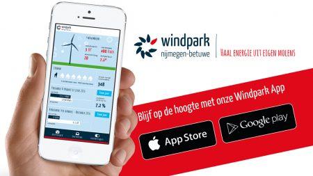 windapp Windpark Nijmegen-Betuwe